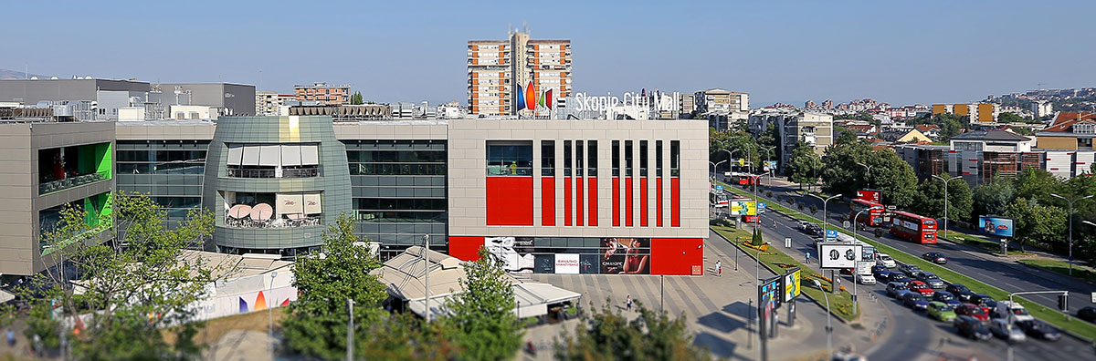 Macedonia, Skopje - Skopje City Mall